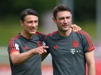 FC Bayern: Niko und Robert Kovac 2018 beim ersten Training