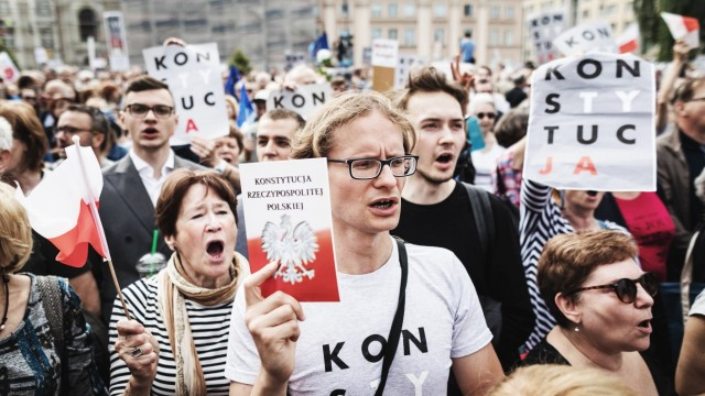 Politik Polen Justiz