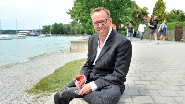 Herrsching: Miene Gruber Kioskbetreiber Bayrische Brandung