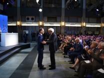 Verleihung Medienpreis Habermas