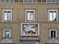 Headquarters of Italy's biggest insurer Assicurazioni Generali is seen in central Rome