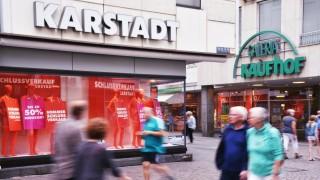 Filialen von Karstadt und Kaufhof in Trier