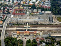 Hauptbahnhof Regensburg Hbf Regensburg kreisfreie Stadt in Ostbayern Bayern Deutschland ACHTUN