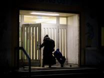 Obdachlosenhilfe im Winter