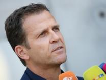 DFB: Oliver Bierhoff, Manager der Deutschen Nationalmannschaft