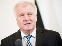 Bundesinnenminister Horst Seehofer in Wien