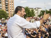 Italien: Innenminister Matteo Salvini 2018 in Turin