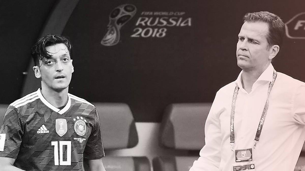 Bierhoff gegen Özil: Ein böses Foul