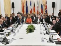 Außenminister-Treffen zum Iran-Abkommen