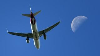 Linienflugzeug im Anflug