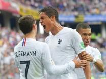 WM 2018 - Uruguay - Frankreich