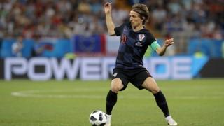 Kroatien Luka Modric bei der Fußball-WM