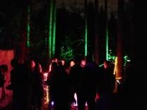 Techno-Partys im Wald werden auch in München veranstaltet. Erlaubt ist das nicht.