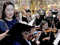 Andechs: Chorkonzert mit  Dirigentin der Andechser Chorgemeinschaft  Sul bi Yi