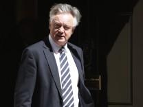 Brexit-Minister David Davis im Mai 2018