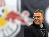 RB Leipzig: Sportdirektor Ralf Rangnick im April 2018