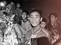 Thailand Jugendliche Höhle Rettung