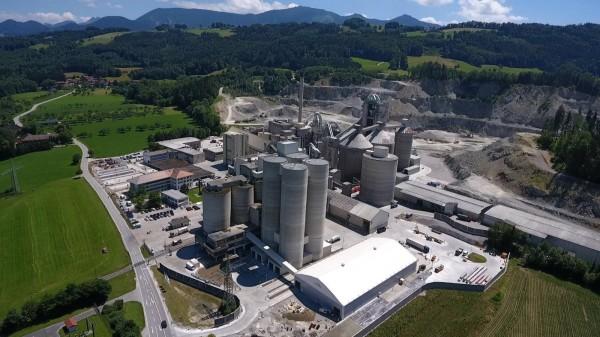 Das Zementwerk in Rohrdorf