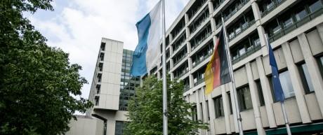NSU-Prozess Oberlandesgericht München, Nymphenburger Straße