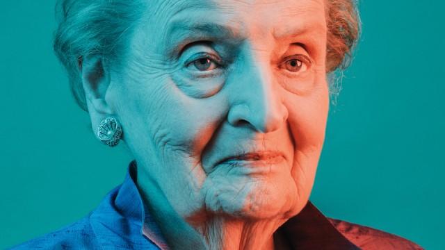 Madeleine Albright Madeleine Albright im Interview