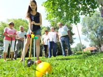 Dießen: Croquet Turnier