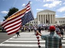 US-Supreme Court - das Oberste Gericht der USA in Washington