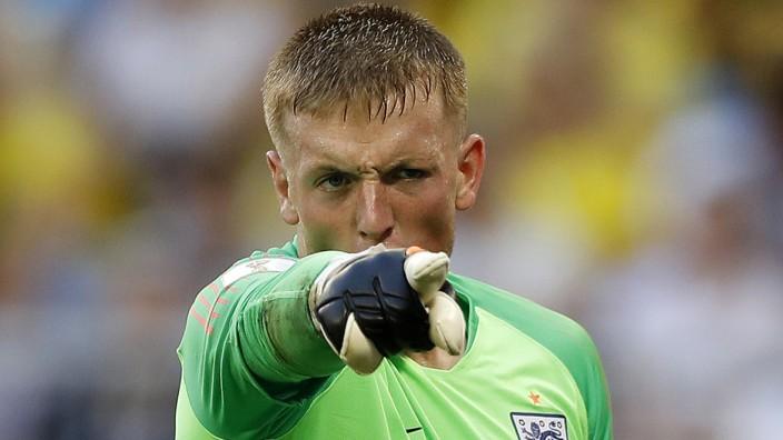 Englands Torwart Jordan Pickford