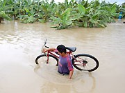 Überschwemmung in Mexiko, dpa