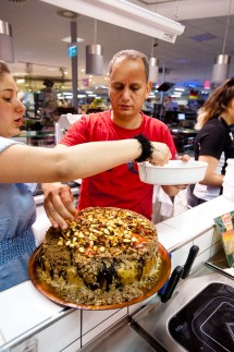 P-Seminar 'Muslimen begegnen' Kochaktion