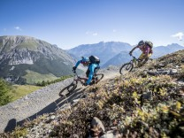 Italien: Downhill-Mountainbiken in Livigno