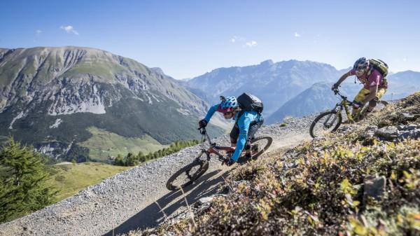 Italien: Downhill-Mountainbiken in Livigno