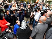 Urteil im NSU-Prozess - Angehörige sprechen vor Pressevertretern