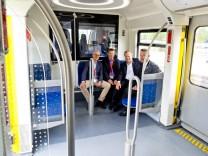 Neue S-Bahn Vorstellung Grafing-Bahnhof