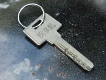Türschlüsseltest wegen unbekannten Jogger