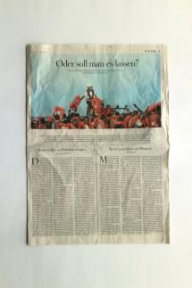 Die Zeit Seite Drei vom 12. Juli 2018