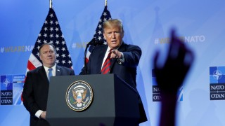 Donald Trump at NATO Alliance Summit in Brussels