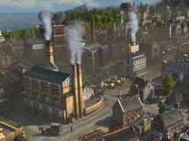 bei Anno 1800 steht die Industrialisierung im Mittelpunkt.
