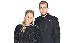 Harry Kane walks the red carpet at The Brit Awards 2018 at o2 Arena Greenwich East London FEBRUA