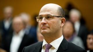Finanzminister Albert Füracker bei Vereidigung in München, 2018