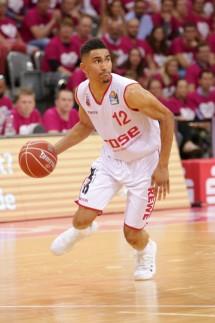 Josh Mayo Telekom Baskets Bonn vs Maodo Lo Brose Bamberg Playoff Viertelfinal Spiel 2 *** Jos; Basketball