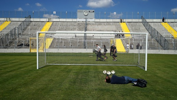 Das Grünwalder Stadion in München-Giesing