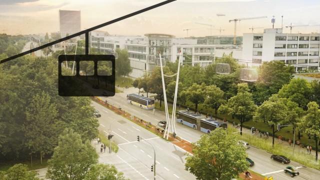 Verkehr in München Frankfurter Ring