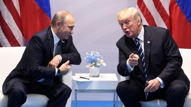 Politik USA Trump trifft Putin