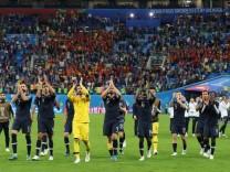 WM 2018 - Frankreich - Belgien