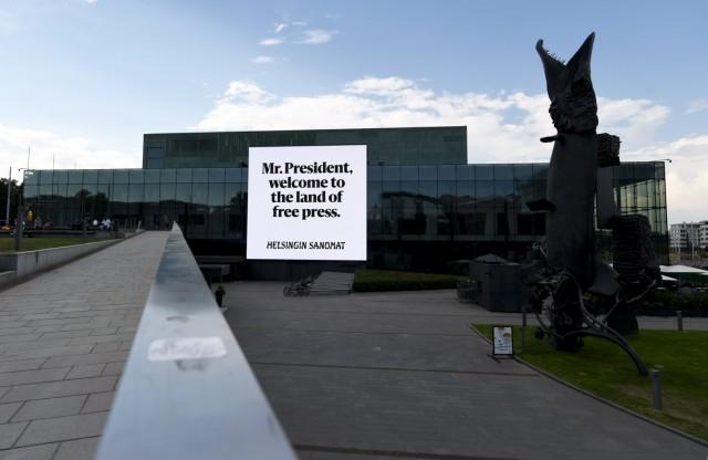 Helsinki vor Trumps Gipfel mit Putin