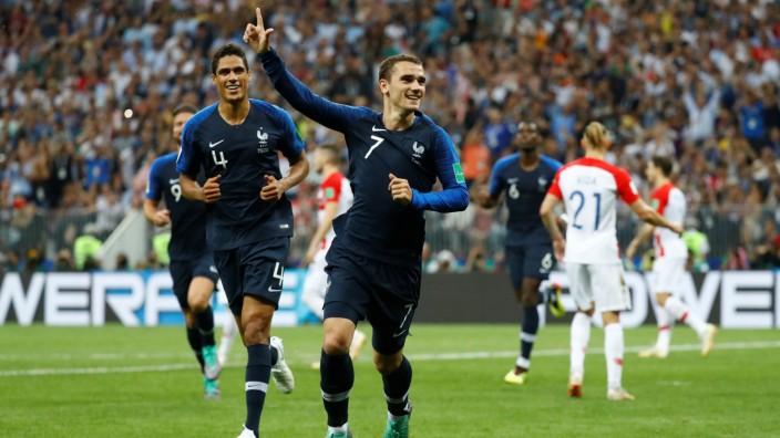 Wm Frankreich Ist Fussball Weltmeister Sport Sz De