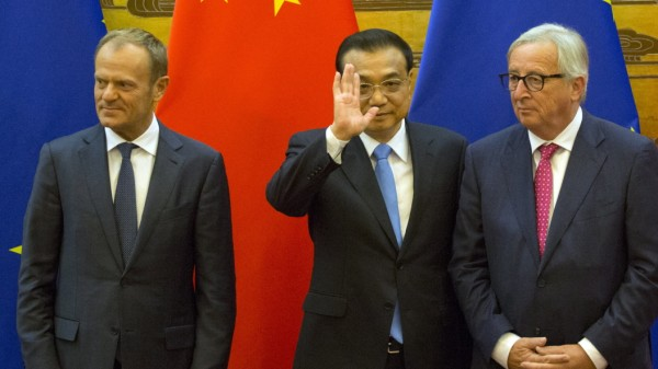 Joint Press Conference With European Council Members In China