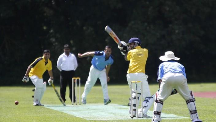 Cricket im Englischen Garten in München, 2012