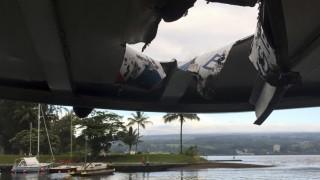 Unglück und Unfall Vulkan Kilauea auf Hawaii