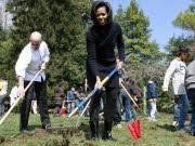 Michelle Obama, Garten Weißes Haus